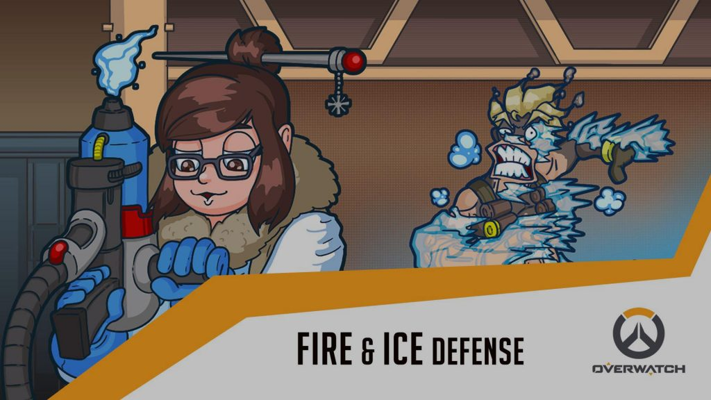 Fire and Ice defence Overwatch