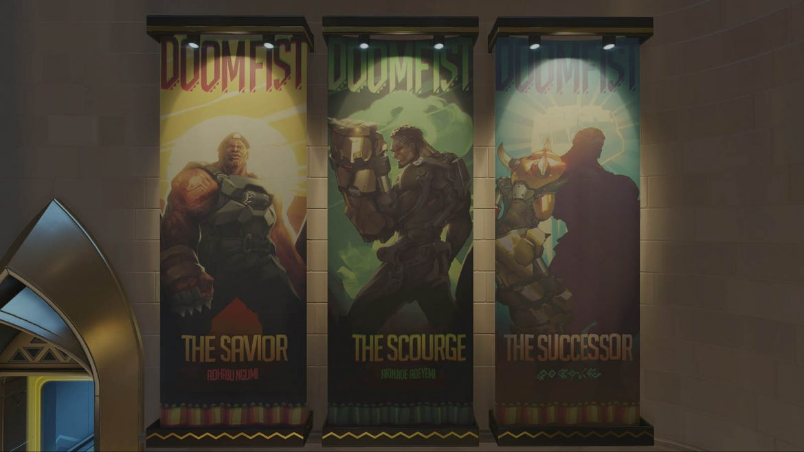 3 faces of Doomfist